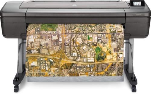 HP Designjet Z6dr 44-in PostScript large format printer Colour 2400 x 1200 DPI Thermal inkjet 1118 x 1676 Ethernet LAN
