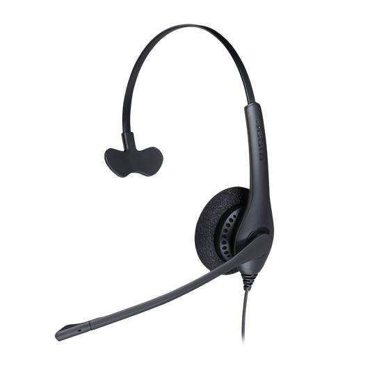 Jabra BIZ 1500 Mono QD Monaural Head-band Black headset