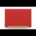 Nobo Diamond Glass Board Magnetic Red 677x381mm DD