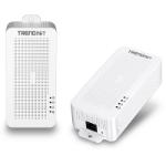 Trendnet TPL-331EP2K 200Mbit/s Ethernet LAN White 2pcs PowerLine network adapter