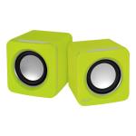 ARCTIC S111 (Green) - USB Speakers