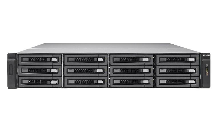 QNAP TES-1885U Ethernet Bastidor (2U) Negro NAS