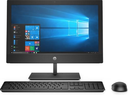 """HP ProOne 400 G5 50.8 cm (20"""") 1600 x 900 pixels 9th gen Intel® Core™ i5 8 GB DDR4-SDRAM 512 GB SSD Wi-Fi 5 (802.11ac) Black All-in-One PC Windows 10 Pro"""