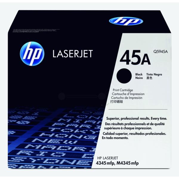 HP Q5945A (45A) Toner black, 18K pages