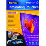 Fellowes ImageLast A4 80 Micron Laminating Pouch - 100 pack