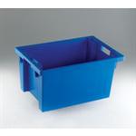 FSMISC STACK/NEST BOX 600X400X300MM BLUEE