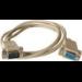 Microconnect DB9-DB9 5m DB9 DB9 Grey cable interface/gender adapter