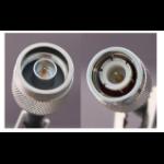 DMT 25m N-Male/FF400/TNC-Male coaxial cable FF400/TNC Black