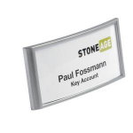 Durable classic Name badge with combi clip 30 x 65 mm