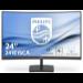 "Philips E Line 241E1SCA/00 pantalla para PC 59,9 cm (23.6"") 1920 x 1080 Pixeles Full HD LCD Curva Mate Negro"