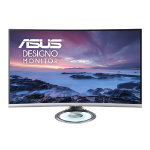 "ASUS MX32VQ computer monitor 80 cm (31.5"") Wide Quad HD LED Curved Black,Grey"