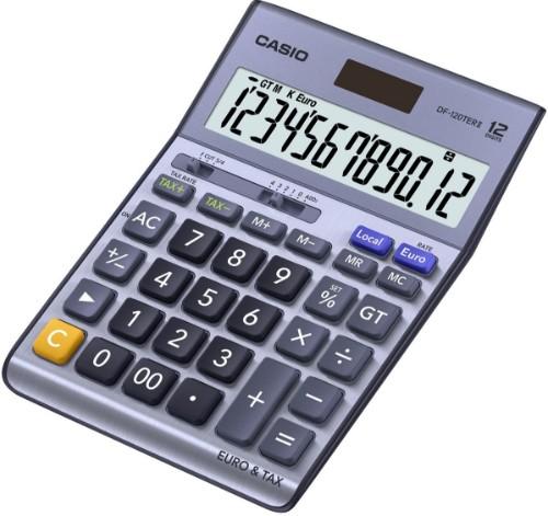 Casio DF-120TERII calculator Desktop Basic Blue