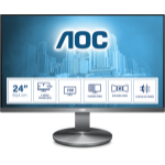 AOC I2490VXQ/BT PC Flachbildschirm 60,5 cm (23.8 Zoll) 1920 x 1080 Pixel Full HD LED Grau