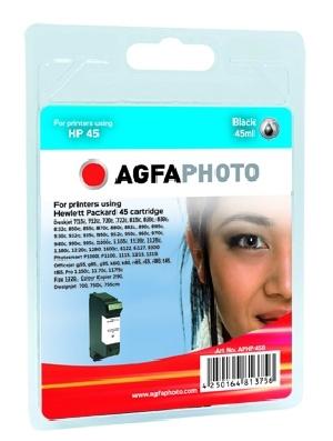 Compatible Inkjet Cartridge - Hp No 45 - 45ml - Black