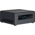 Intel NUC BLKNUC7I5DNH3E PC/workstation barebone i5-7300U 2.6 GHz UCFF Black BGA 1356