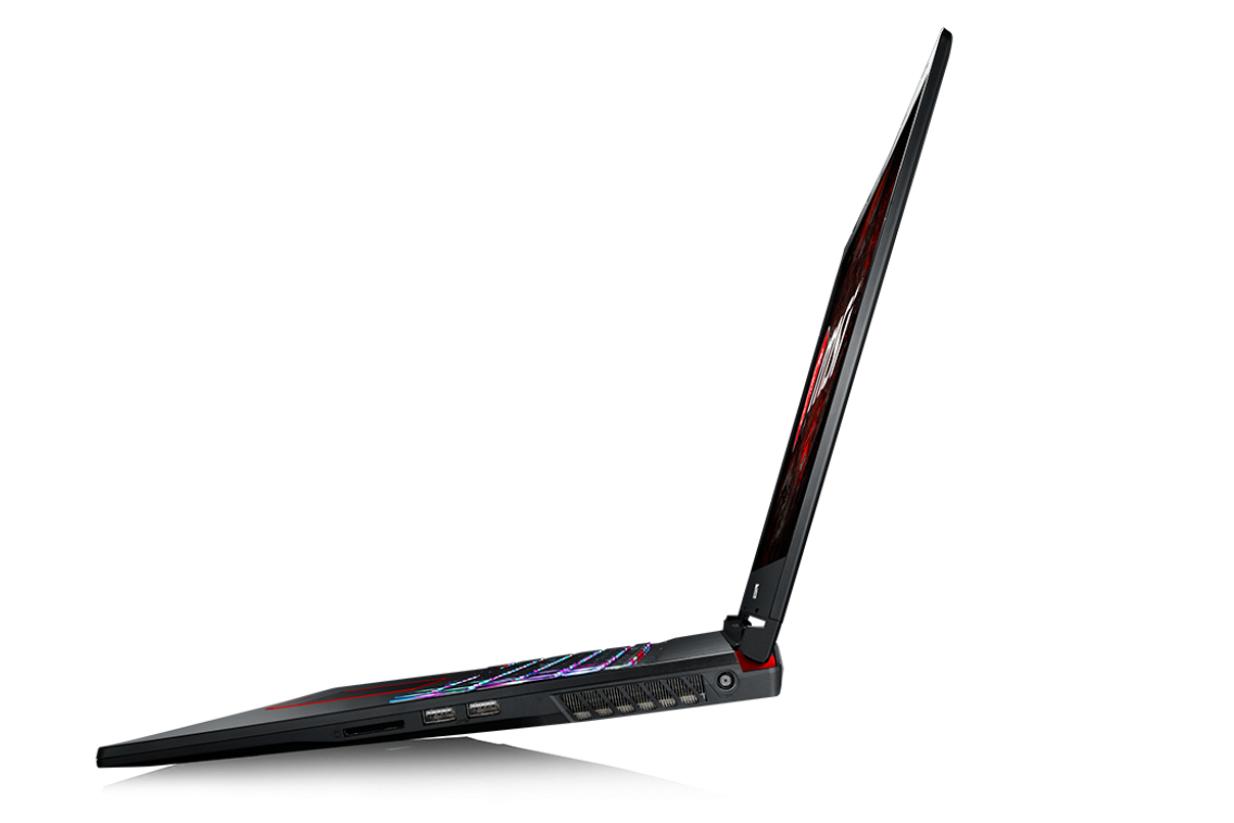 "MSI Gaming GE73 7RD(Raider)-007UK 2.8GHz i7-7700HQ 17.3"" 1920 x 1080pixels Black Notebook"