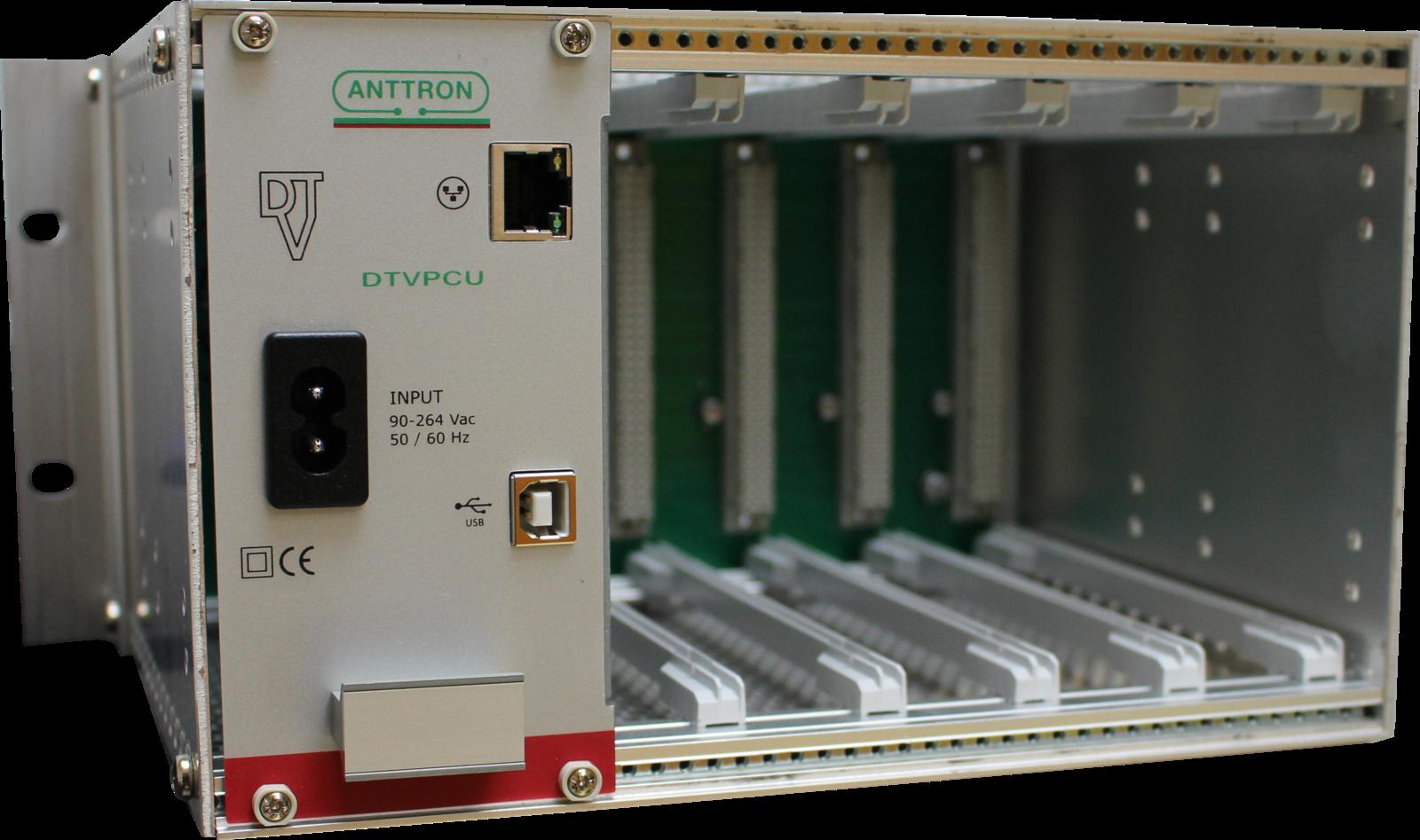 Anttron Semi rack for 5 modules Wall mount Powersupply : 45 Watt - Approx 1-3 working day lead.
