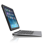 Zagg Slim book Bluetooth Black,Silver mobile device keyboard