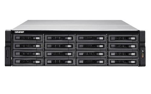 QNAP TS-EC1680U R2 Ethernet LAN Rack (3U) Black,Grey NAS