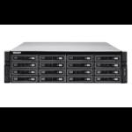 QNAP TS-EC1680U R2 Ethernet LAN Rack (3U) Zwart, Grijs NAS