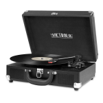Victrola VSC-550BT Belt-drive audio turntable Black