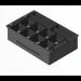 APG Cash Drawer 20466PAC Black cash tray