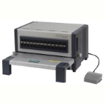 PHE QUPA COMB BINDER D600 WITH 2 AND 4 HOLE PUNCH DIE