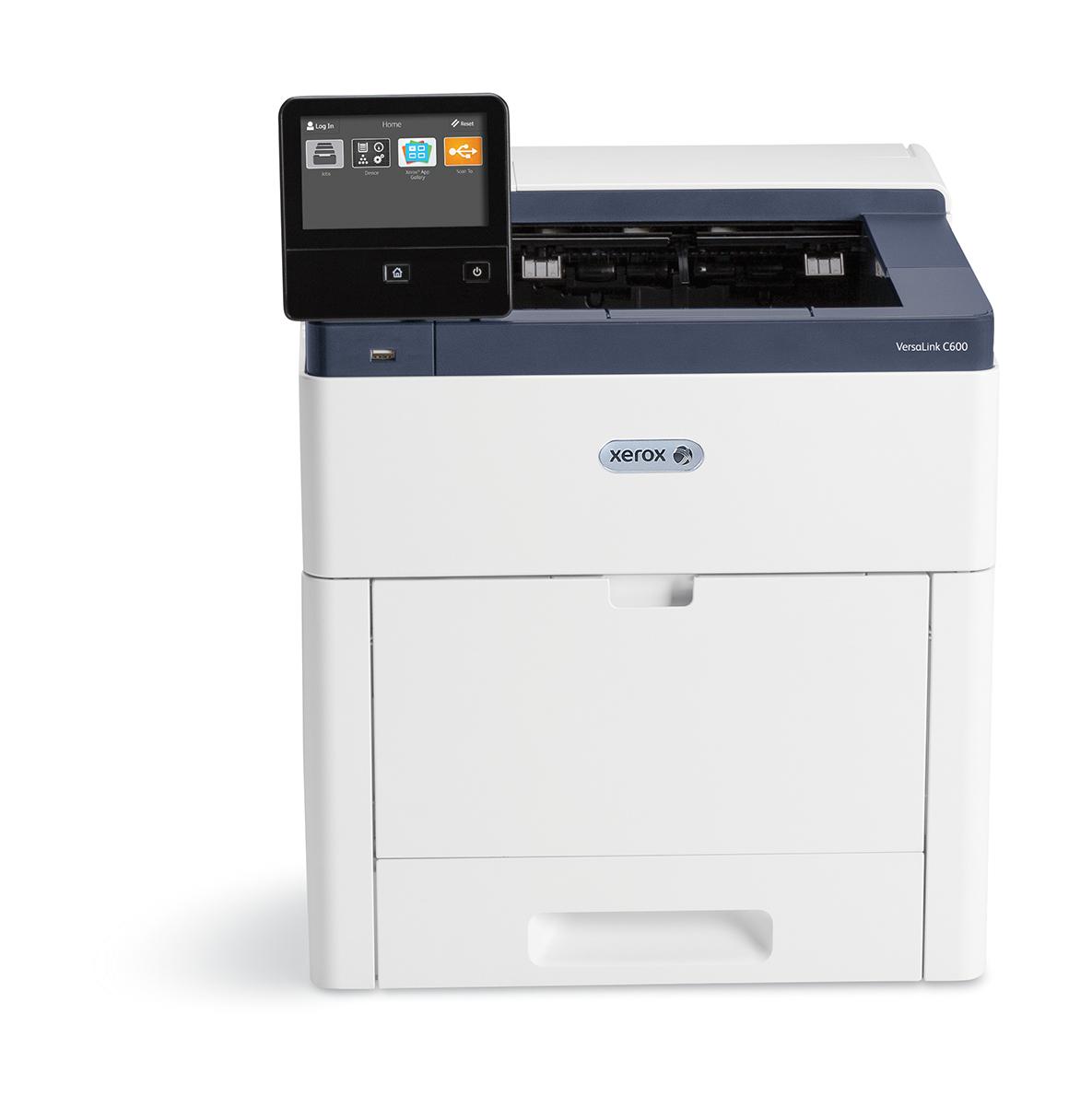 Xerox VersaLink C600 A4 55 ppm A doble cara Impresora Sin contrato PS3 PCL5e/6 2 bandejas 700 hojas