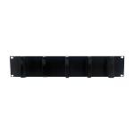 MCL 9A/GC-5/2U organizador de cables Bandeja de cables Estante Negro 1 pieza(s)