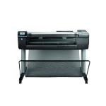 HP Designjet T830 24-in large format printer Colour 2400 x 1200 DPI Inkjet Wi-Fi