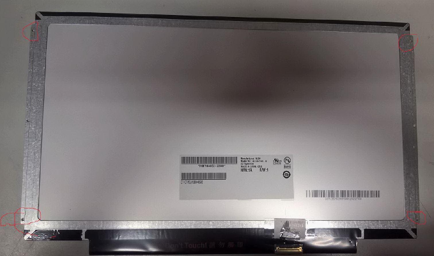 "MicroScreen 13,3"" LCD HD Glossy"