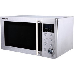 Sharp R-28STM Countertop 23 L 800 W Stainless steel