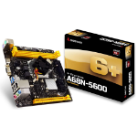 Biostar A68N-5600 AMD A68H Mini-ITX motherboard