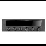Thermaltake COMMANDER F6 fan speed controller 6 channels Black LCD