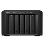 Synology DX517 disk array Desktop Zwart