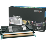 Lexmark C5240KH Toner black, 8K pages @ 5% coverage