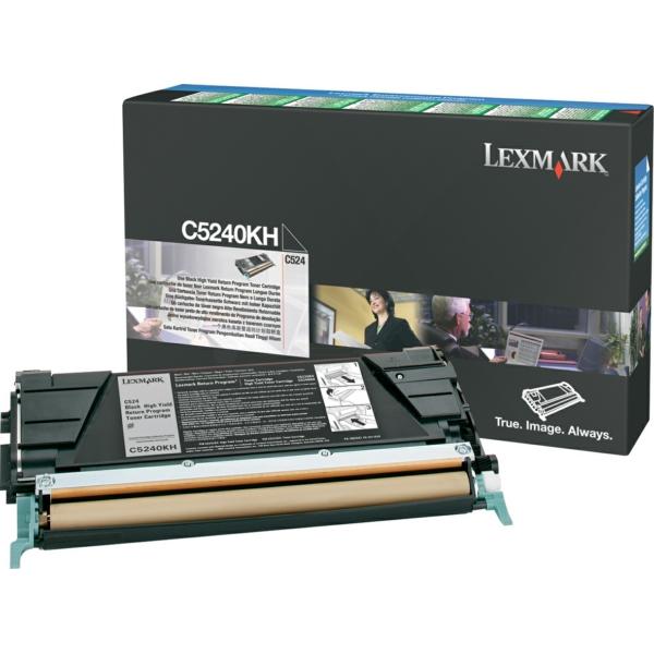 Lexmark C5240KH Toner black, 8K pages @ 5% coverage