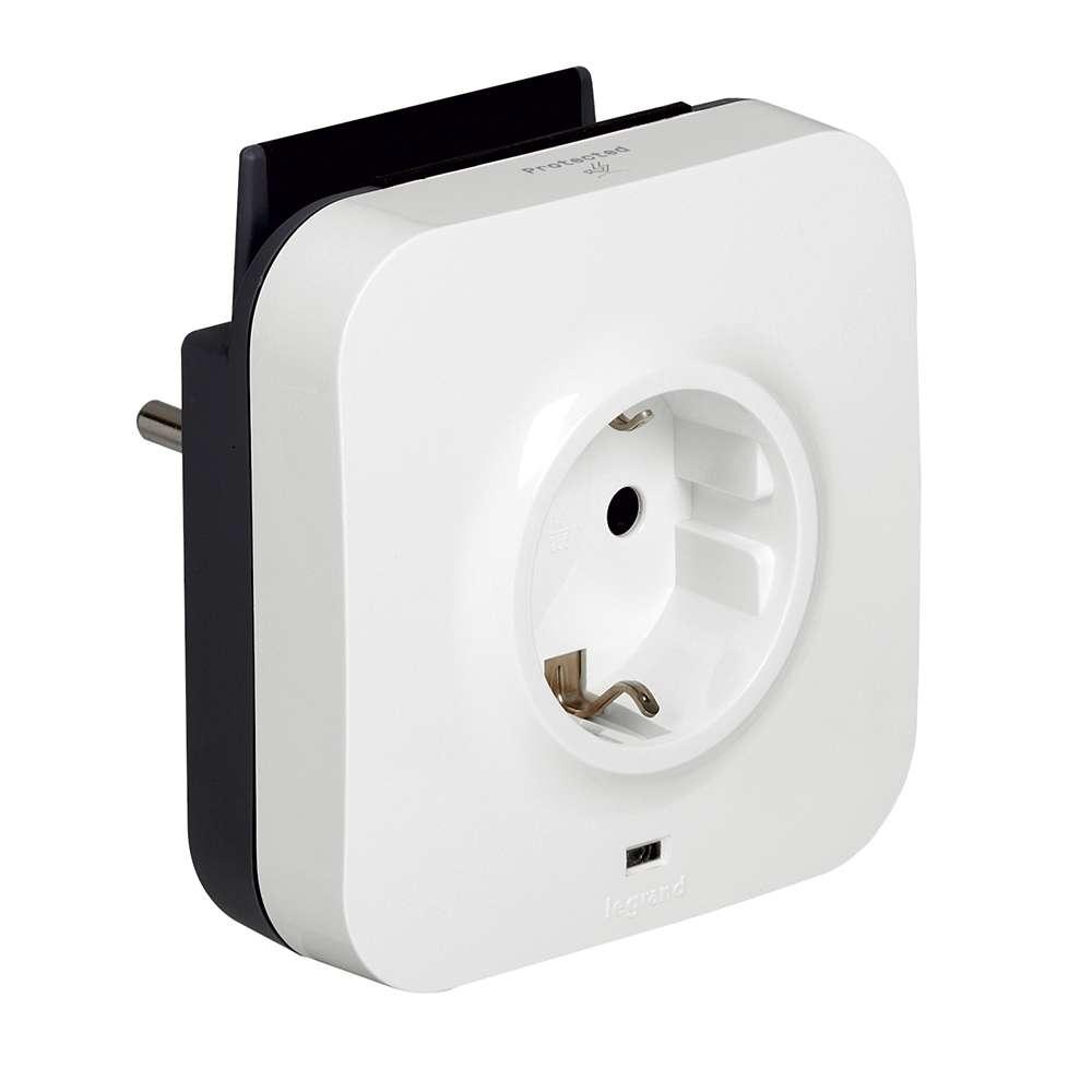 C2G 80790 White surge protector