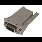 Hewlett Packard Enterprise Q5T65A cable gender changer DB9 RJ-45 Gray