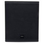 Citronic 178.125UK subwoofer 500 W Active subwoofer Black