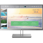 "HP EliteDisplay E233 23"" Full HD IPS Black, Silver computer monitor"