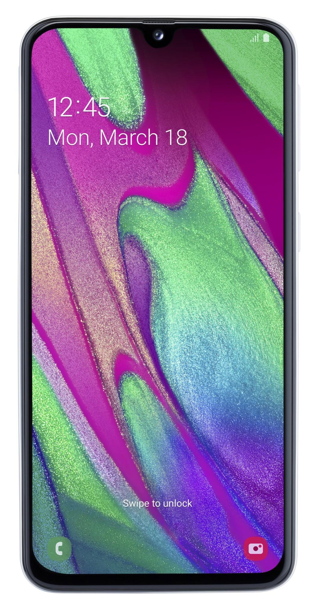 "Samsung Galaxy SM-A405F 15 cm (5.9"") 4 GB 64 GB Dual SIM 4G White 3100 mAh"