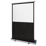 Nobo Portable Floorstanding Projection Screen 1620 x 1220mmZZZZZ], 1901956