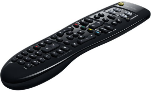 Logitech 915-000235 remote control IR Wireless Audio,CABLE,DVD/Blu-ray,DVR,SAT,TV,TV set-top box Press buttons