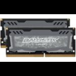 Crucial Ballistix Sport LT memory module 16 GB DDR4 2400 MHz