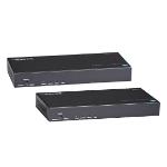 Black Box UVX-DP-TP-100M AV transmitter & receiver Black AV extender