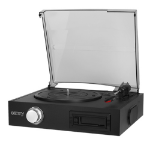 Camry CR 1154 audio turntable Direct drive audio turntable Black