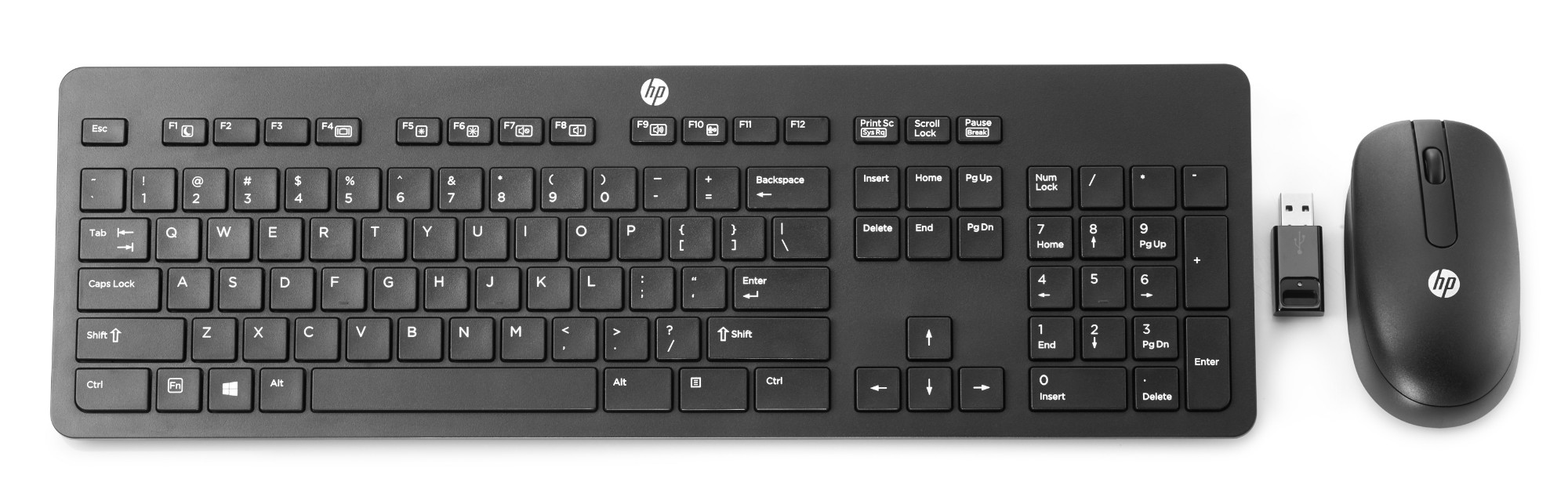 HP Wireless Business Slim Keyboard and Mouse Qwerty Uk