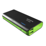 ADATA PT100 power bank Black,Green Lithium-Ion (Li-Ion) 10000 mAh