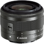 Canon EF-M 15-45mm f/3.5-6.3 IS STM MILC Wide zoom lens Graphite